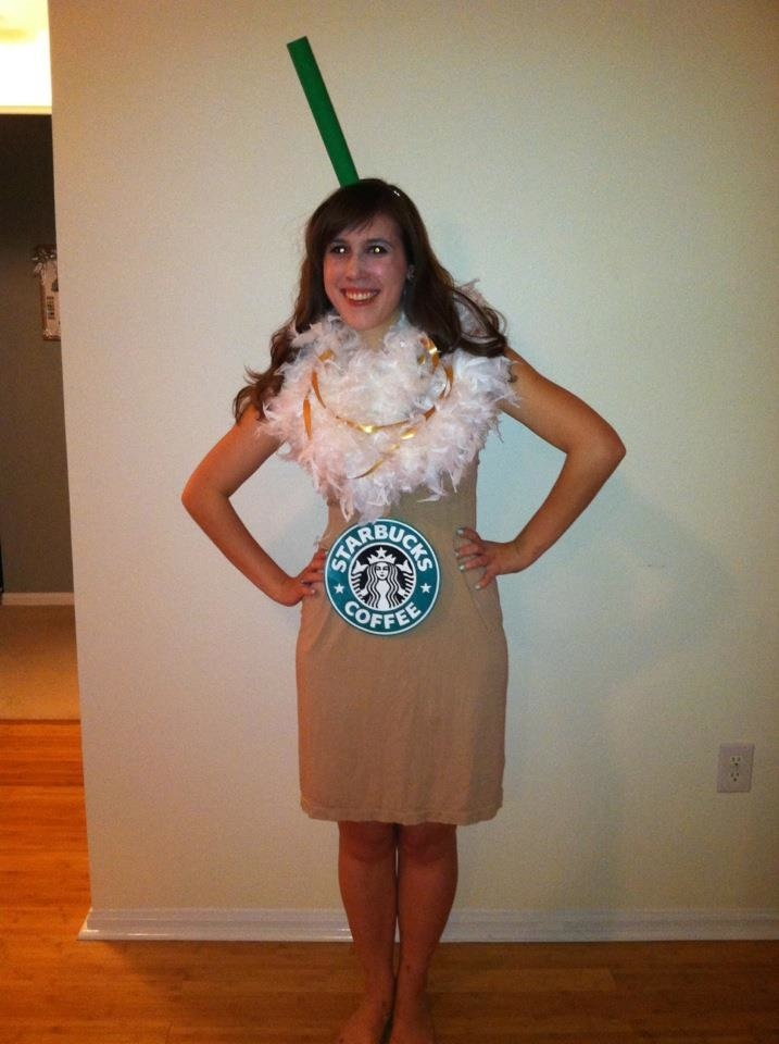 16 last minute halloween costumes that are totally diy dress in a tight dress that resembles your drink of choice and place its logo on your front roll cardboard into a cylinder to attach to a headband to wear solutioingenieria Choice Image